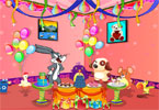 Bugs bunny at the party gyerek j�t�kok ingyen