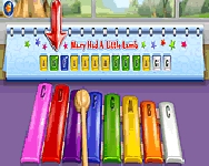 Darbys colorful music keys j�t�k