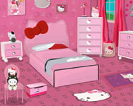 Hello Kitty girl bedroom online játék