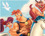 Hercules hidden objects játék