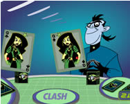 Kim Possible card clash gyerek j�t�kok