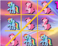 My Little Pony tic-tac-toe online j�t�k