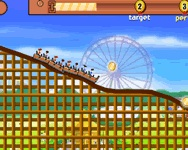 Flash Rollercoaster creator on-line j�t�k