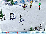 Ski slope showdown j�t�k