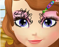 Sofia the first face art játék