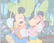 Sort my tiles Mickey and Minnie online játékok