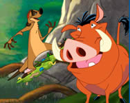 Timon and Pumba grub ridin j�t�k