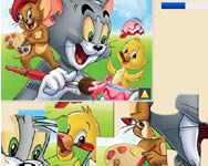 Tom and Jerry jigsaw j�t�k