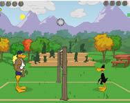 Tricky duck volleyball j�t�k