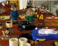 Alvin and the chipmunks hidden objects online játék