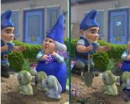 Gnomeo and Juliet spot the difference gyerek játékok