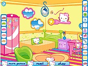 Hello Kitty room creator online játék